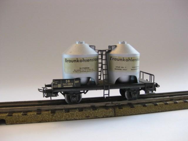 4-achsiger Kohlenstaubwagen
