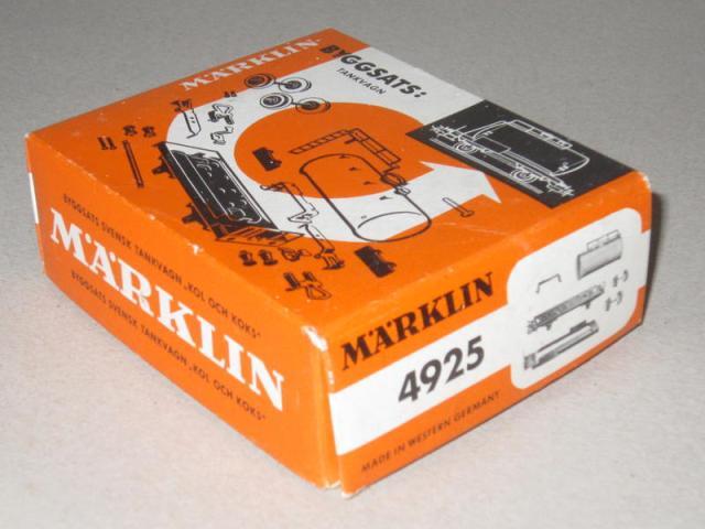 Märklin Bausatz Wagen 4925
