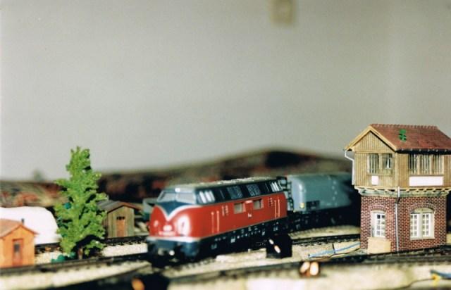 Modelleisenbahn - Wiedergeburt Nr.2