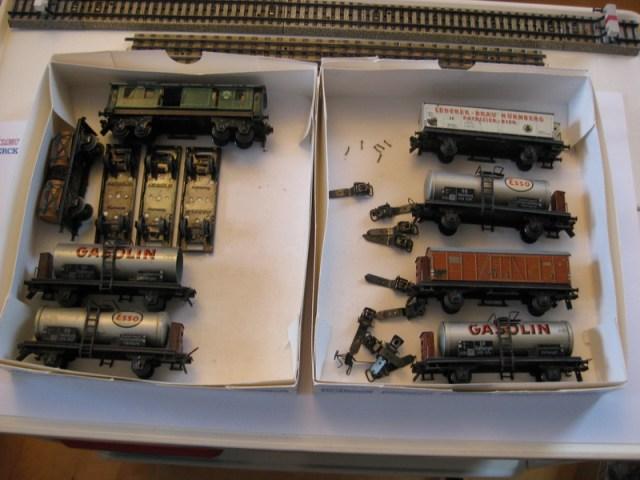 Trix Express Blech Wagen