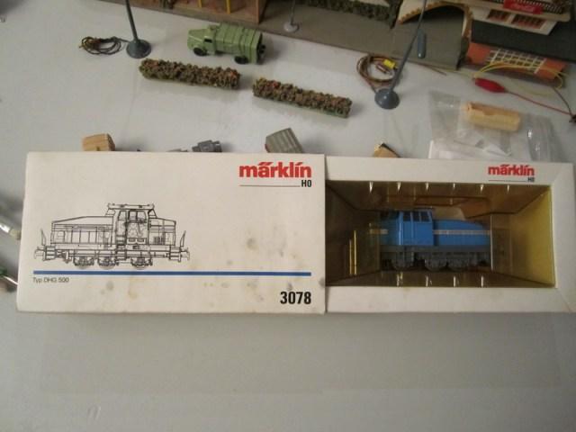 Märklin 3078 Diesellok Typ DHG