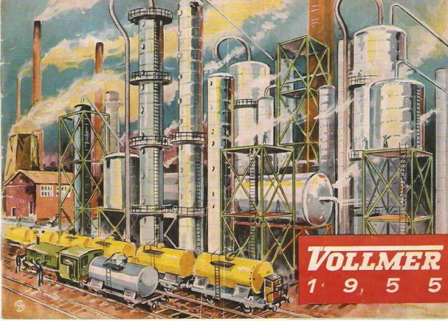 Deckblatt Vollmer Katalog 1955