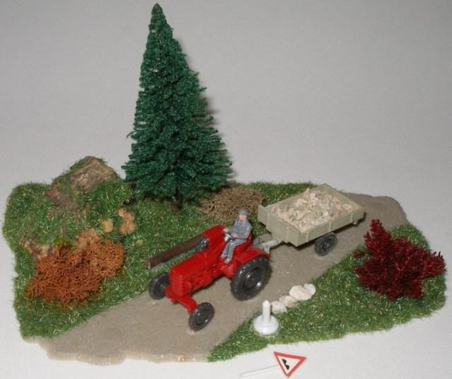 Klein-Dioramen - Landschaftsteile H0/00