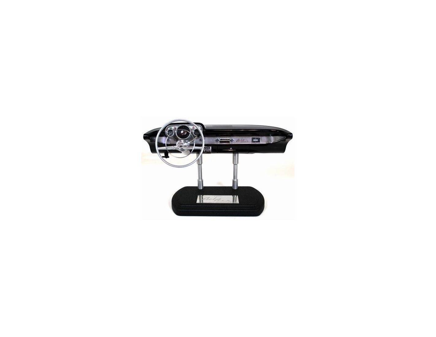 GMP Models G0605102 CHEVY BEL AIR DASHB BLACK 1957 1/6