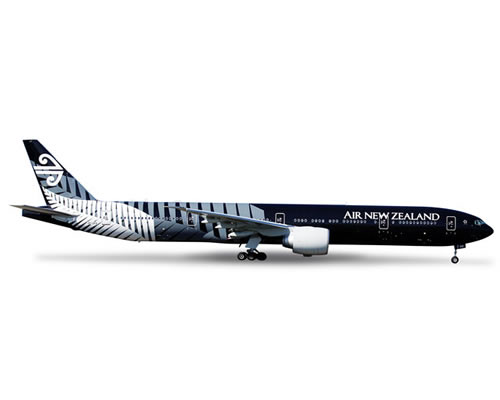 HERPA Air New Zealand Boeing 777-300ER All Blacks 1:200