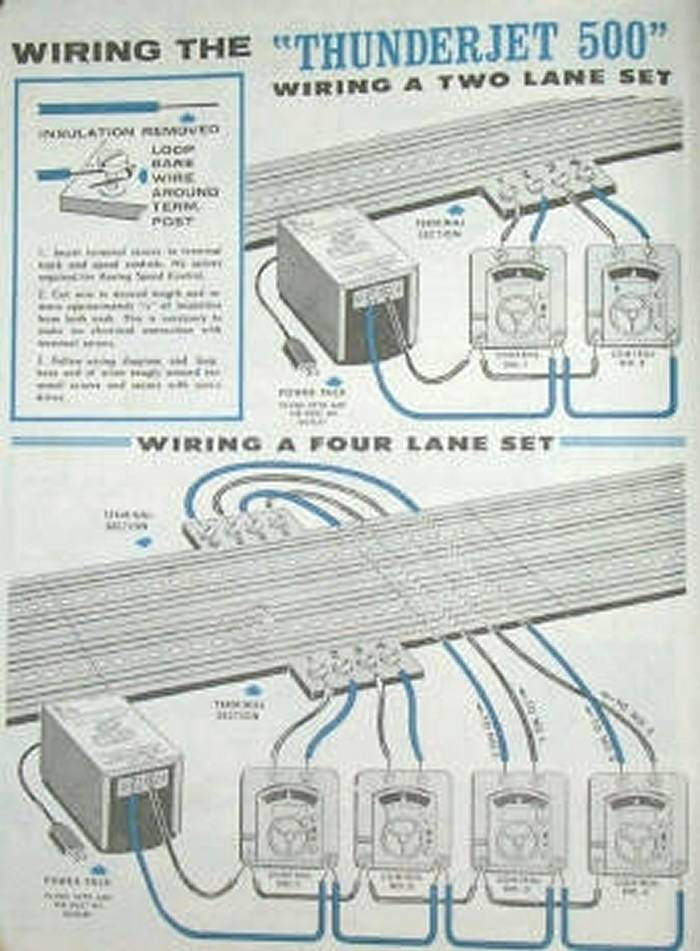 100 Pair Wiring Diagram Schematic Model Motoring S Ho Lock And Joiner Slot Car Track Pieces