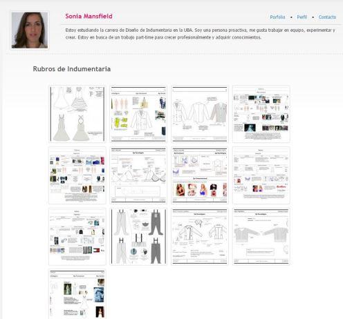 portfolio diseño moda
