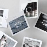 Tarjeta de visita bonita para fotógrafo