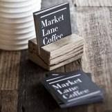 Tarjeta de presentación elegante para pastelería