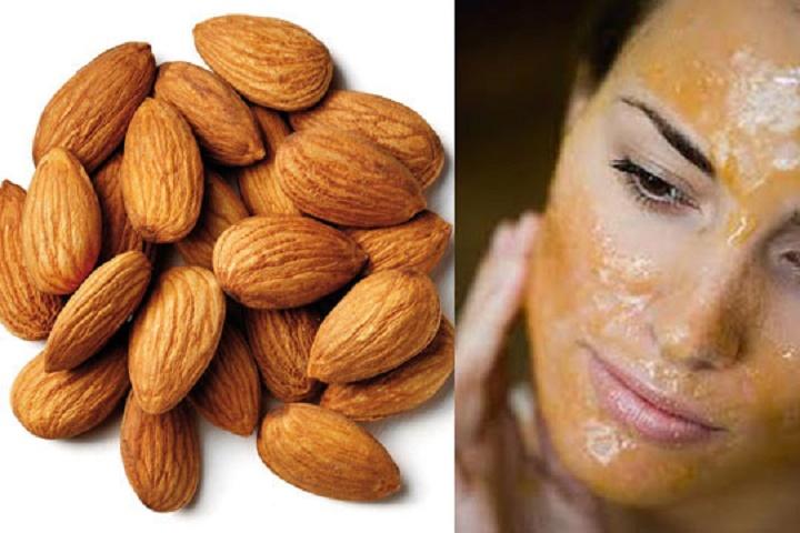 Almond facial masque