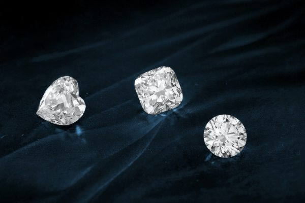 mined diamonds
