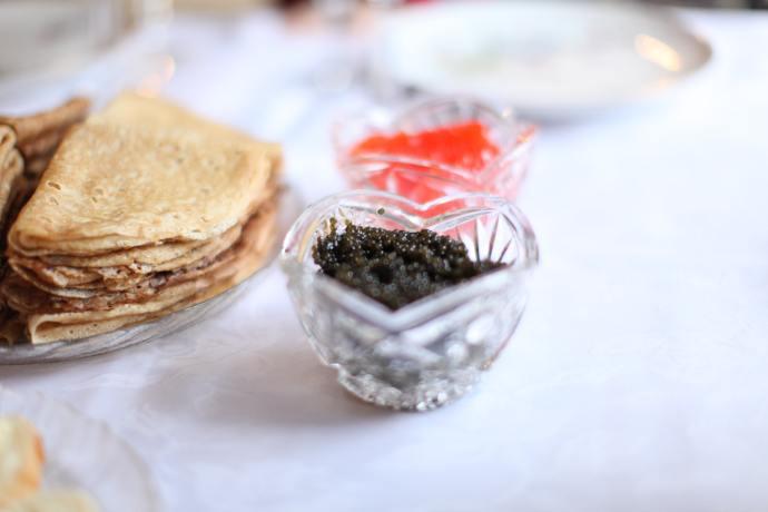 caviar tasting party