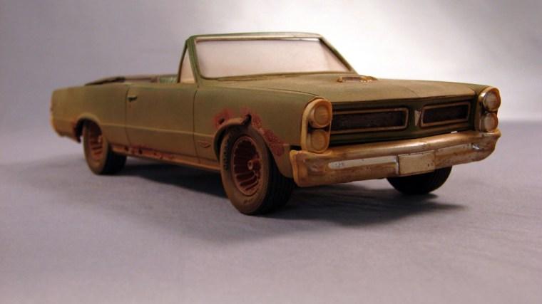 Pontiac GTO Descapotable 1965 (Descuidado)