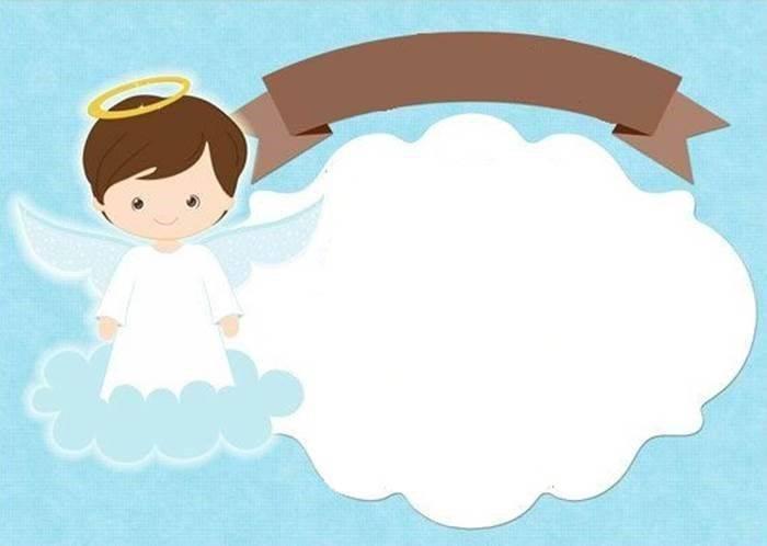 moldura para fotos batizado gratis