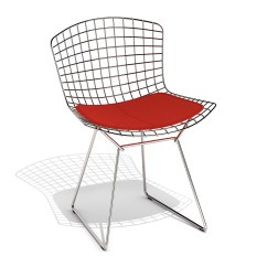 Bertoia Wire Chair Original Best Office For 10 Hours Knoll Side 3d Model 0221