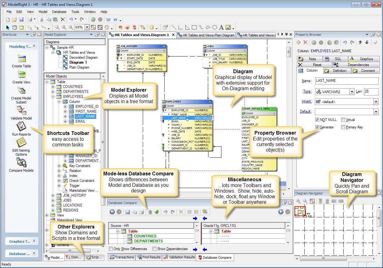 Sql Server Database Diagram Examples Download Erd Schema