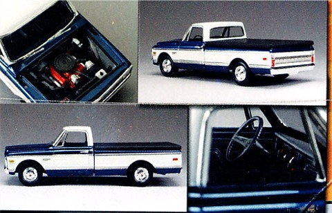 1972 Chevy Fleetside Pickup 125 Fs