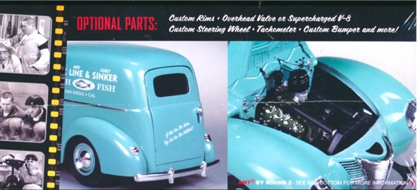 1940 Ford Three Stooges Sedan Delivery 125 fs