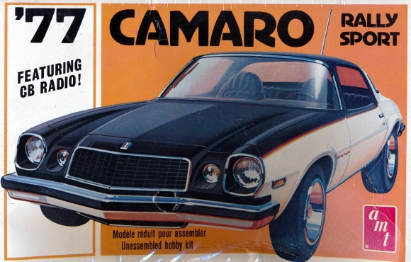 1977 Chevy Camaro Rally Sport 125 Fs