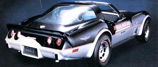 1978 Chevrolet Corvette Indy Pace Car 116 Fs