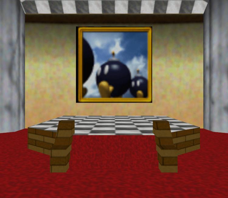 Nintendo 64 Super Mario 64 Bob Omb Battlefield Room The Models Resource