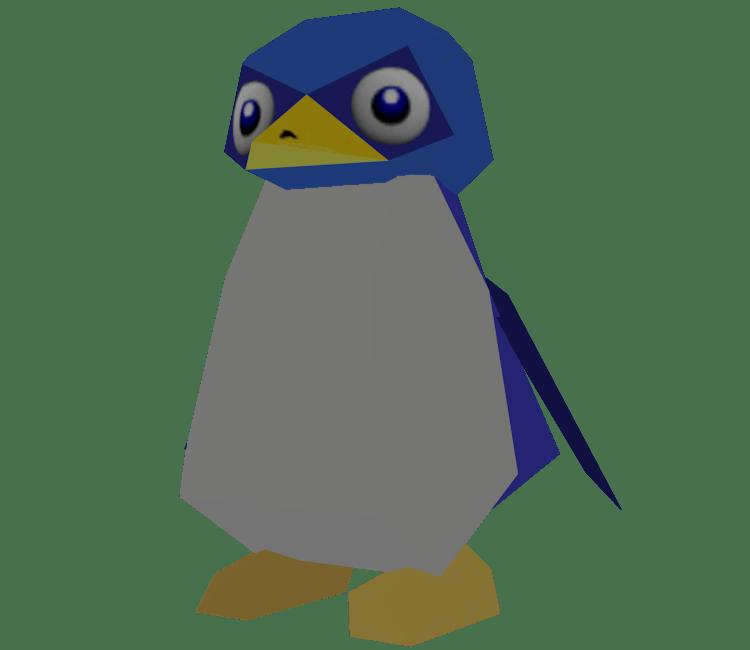 Nintendo 64 Super Mario 64 Penguin The Models Resource
