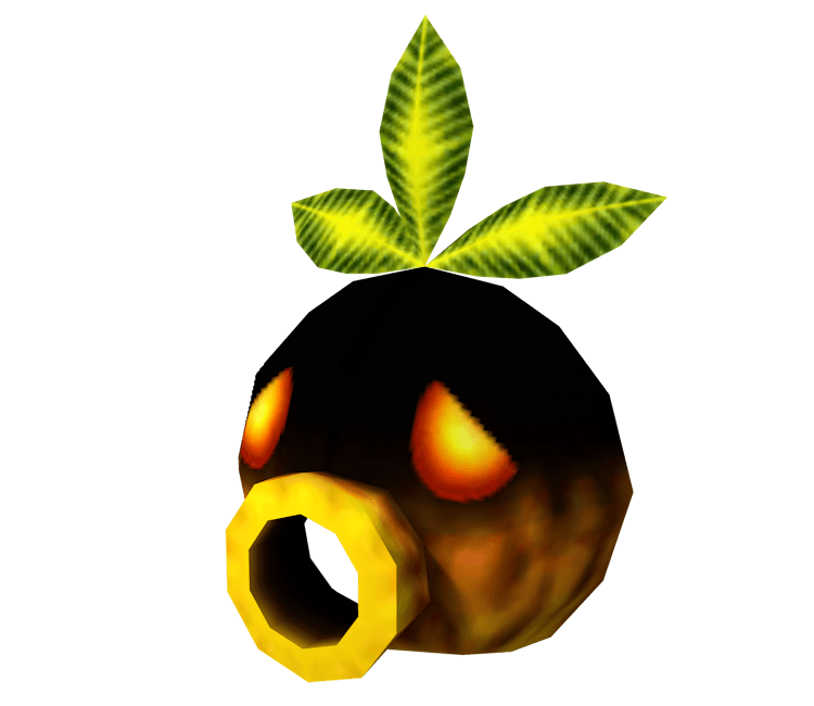 3DS The Legend Of Zelda Majoras Mask 3D Deku Mask The Models Resource