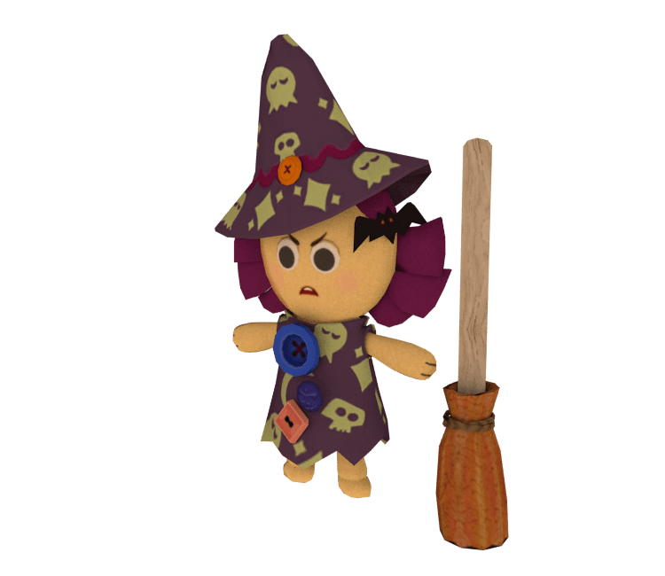Wii Toy Story 3 Dolly Scary Witch The Models Resource