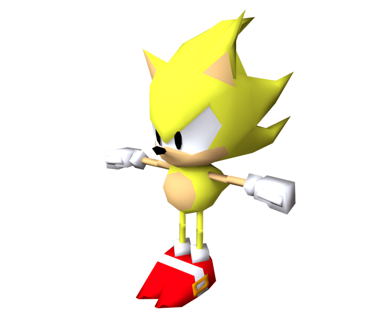 Custom Edited Sonic The Hedgehog Customs Super Sonic Mania Style The Models Resource
