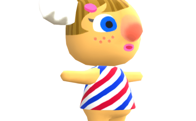 Mobile Animal Crossing Pocket Camp Alice The Models Resource