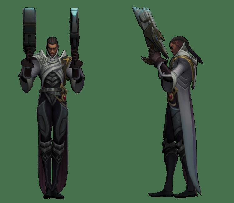 PC  Computer  League of Legends  Lucian  The Models