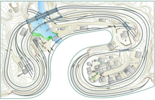 small resolution of layout planning model scenery structure model railroads layout planning track wiring plans
