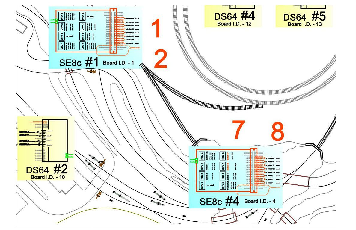 hight resolution of model train dcc wiring 911