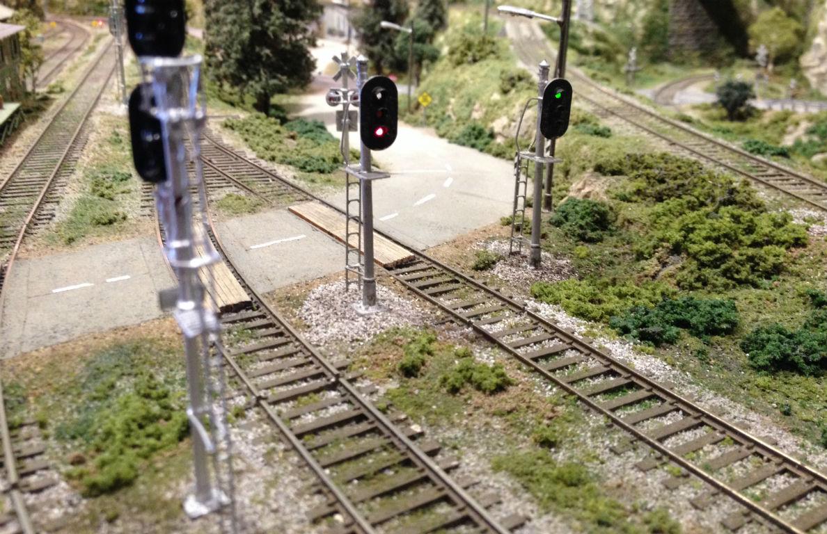 Model Railroad Turnout Control Railway