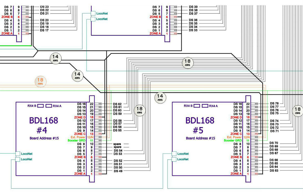dcc model railway wiring diagrams seymour duncan layout planning scenery and structure