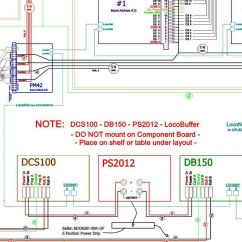 Dcc Model Railway Wiring Diagrams Typical Diagram For Drum Controller Layout Planning Scenery And Structure