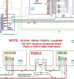 layout planning model scenery structure dcc wiring examples dcc wiring examples [ 1188 x 768 Pixel ]