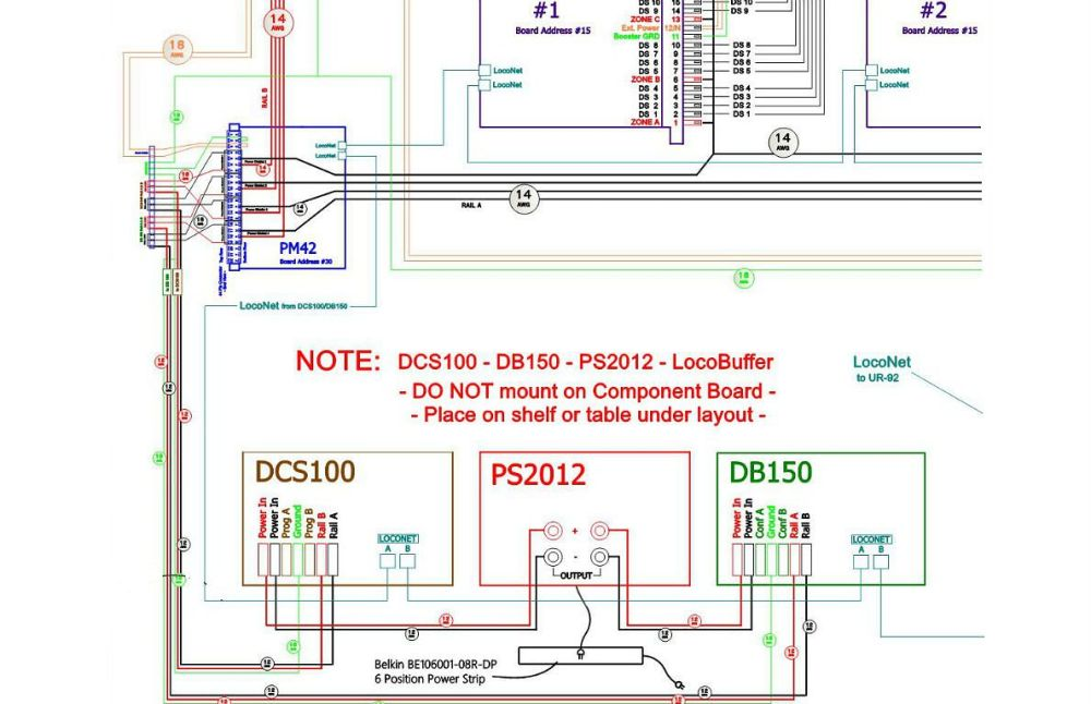 medium resolution of layout planning model scenery structure dcc wiring examples dcc wiring examples