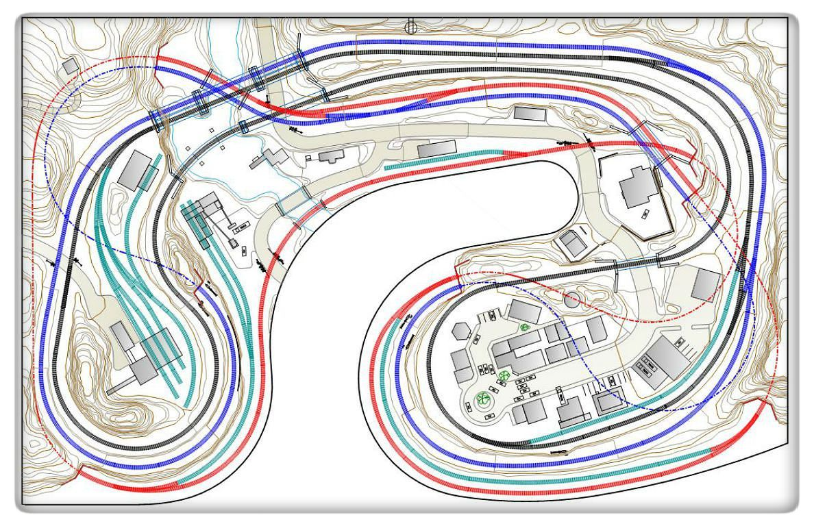 hight resolution of design model scenery structure commercial slot car track wiring model train layout plans 108 model