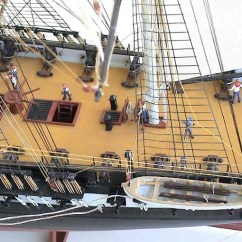 Uss Constitution Rigging Diagram 96 Jeep Grand Cherokee Stereo Wiring Infinity M O D E L W A R S H I P . C - G Y