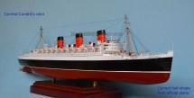 Rms Queen Mary Authentic Ocean Liner Model