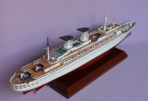 Ts Michelangelo Ocean Liner Ship Model