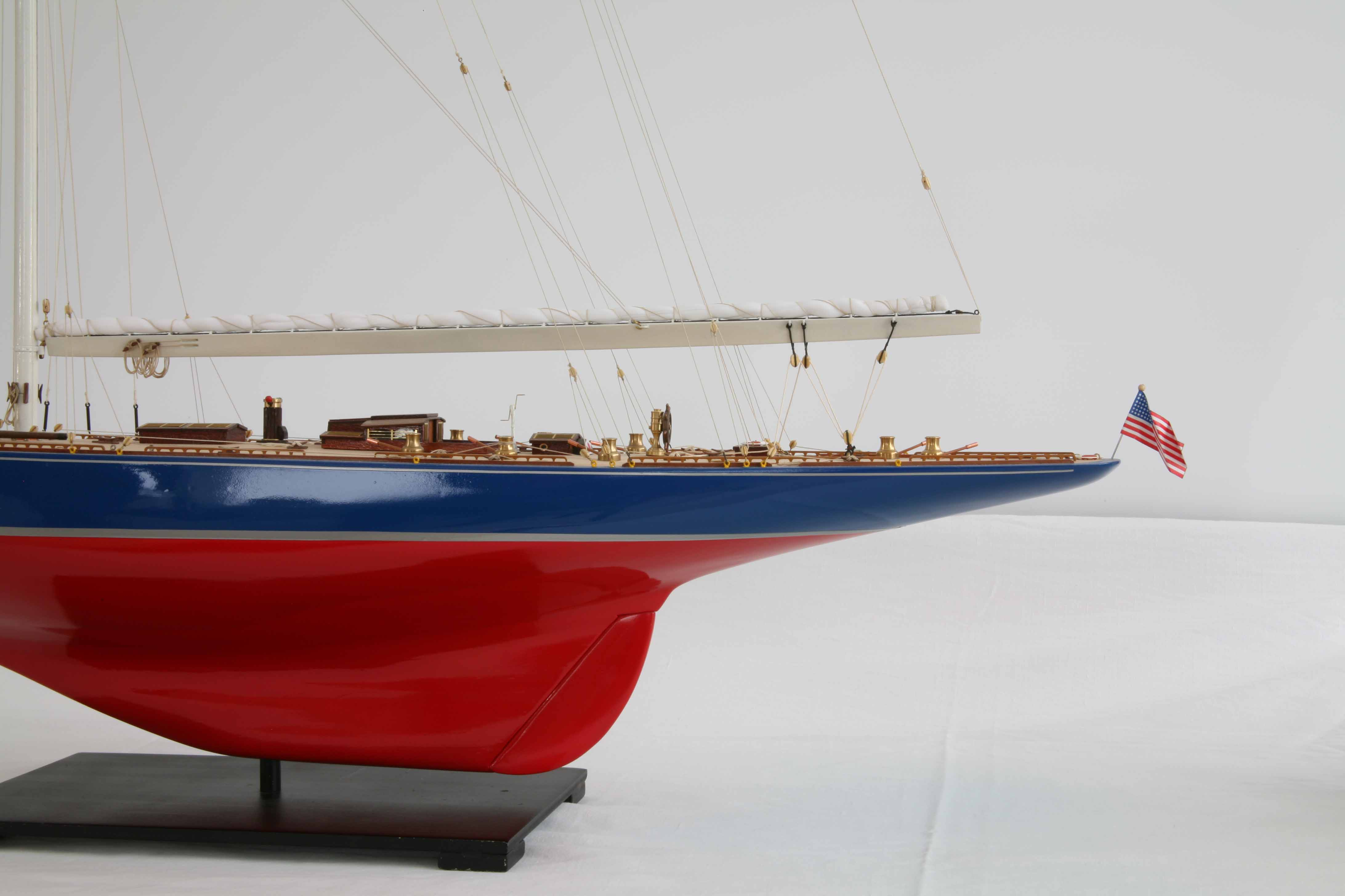Photos Ship Model J Class Yacht Endeavour Of 1934 Close Views