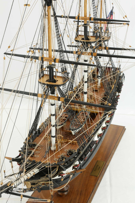 Photos Ship Model American Frigate Essex Of 1799 Views Of