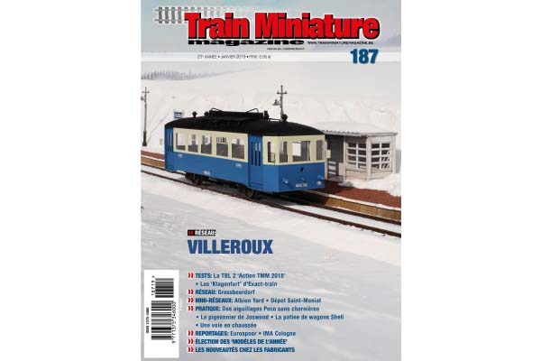 Train Miniature Magazine 187