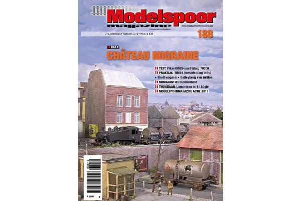 cover Modelspoormagazine 188 editie februari