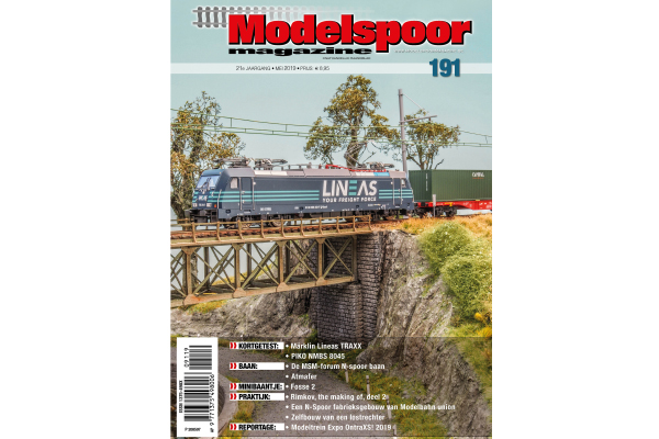 cover Modelspoormagazine 191 editie mei