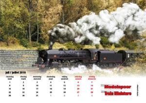 Modelspoormagazine kalander editie 193 liggend