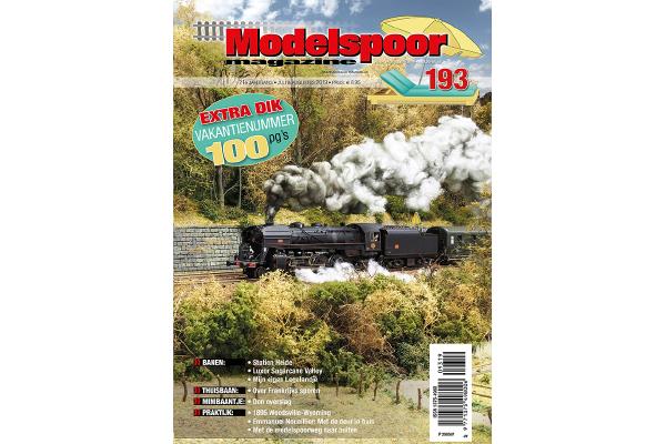 cover Modelspoormagazine 193