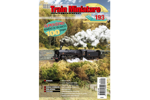 cover Train Miniature Magazine 193